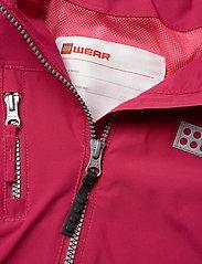 Lego wear - LWJODIE 200 - JACKET - shell jacket - bordeaux - 5