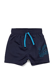 LWPOUL 351 - SWIM SHORTS - DARK NAVY