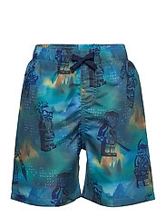 LWPATRIK 353 - SWIM SHORTS - LIGHT BLUE