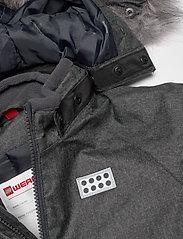 Lego wear - LWJUNIN 706 - SNOWSUIT - snowsuit - grey melange - 6