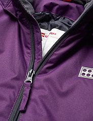 Lego wear - LWJIPE 703 - SNOWSUIT - snowsuit - dark purple - 3