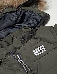 Lego wear - LWJUNIN 708 - SNOWSUIT - snowsuit - dark khaki - 6
