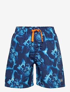 LWPETER 302 - SWIM SHORTS - shorts de bain - dark navy