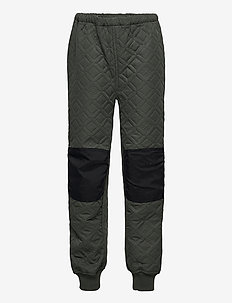 LWPELMO 200 -  PANT (THERMO) - broeken - dark green