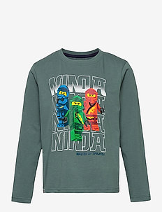 M12010032 - T-SHIRT LS - langærmede t-shirts - mat green