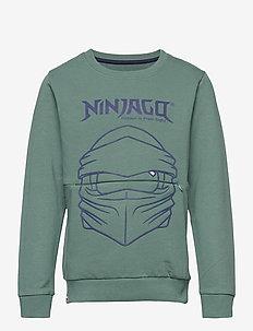 M12010054 - SWEATSHIRT - sweatshirts - mat green