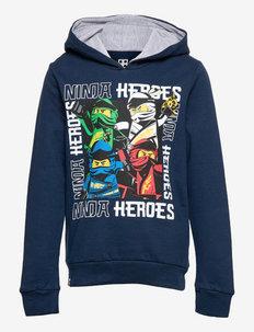 M12010225 - SWEAT HOODIE - hoodies - dark navy