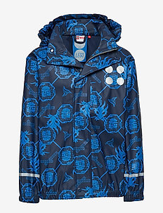JONATHAN 103 - RAIN JACKET - jackets - dark navy