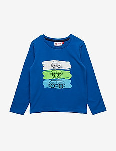 TERRENCE 327 - T-SHIRT L/S - BLUE