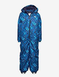 LWJORDAN 701 - SNOWSUIT - BLUE