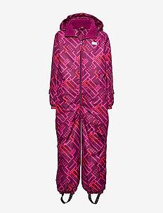 LWJORDAN 701 - SNOWSUIT - snowsuit - bordeaux
