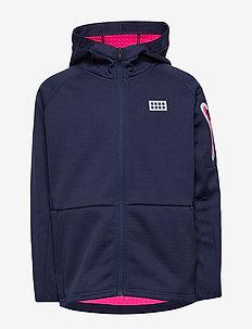 LWSIMONE 609 - FLEECE CARDIGAN - hoodies - dark navy