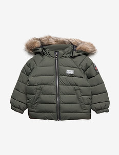 LWJULIAN 703 - JACKET - puffer & padded - dark green