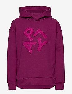 LWSIMONE 758 - SWEATSHIRT - hoodies - bordeaux