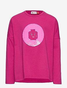 LWTIPPI 752 - T-SHIRT L/S - long-sleeved t-shirts - dark pink
