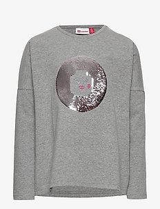 LWTIPPI 752 - T-SHIRT L/S - long-sleeved t-shirts - grey melange