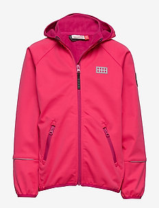 LWSAM 200 - SOFTSHELL JACKET - softshell-jakker - coral red