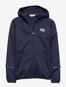LWSAM 200 - SOFTSHELL JACKET - softshell-jakker - dark navy