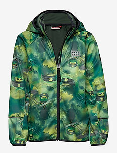 LWSAM 202 - SOFTSHELL JACKET - GREEN