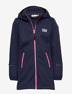 LWSOFIE 201 - SOFTSHELL JACKET - veste softshell - dark navy