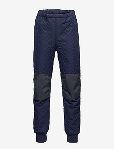 LWPOUL 200 -  PANT (THERMO) - bas - dark navy