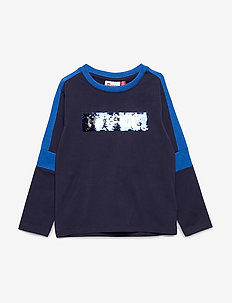 LWTOBIAS 104 - T SHIRT L/S - cartoon - dark navy
