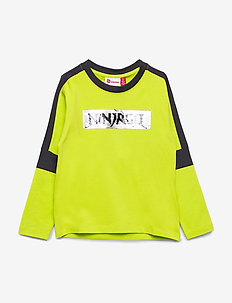 LWTOBIAS 104 - T SHIRT L/S - cartoon - lime green