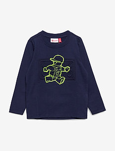 LWTOBIAS 107 - T-SHIRT L/S - cartoon - blue