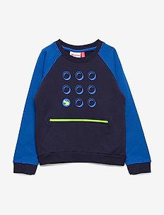 LWSOLAR 102 - SWEATSHIRT - sweatshirts - dark navy