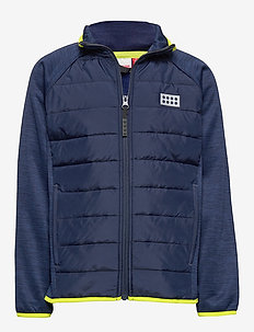 LWSAM 212 - FLEECE JACKET - molleton - blue