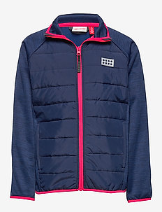 LWSAM 212 - FLEECE JACKET - molleton - dark blue