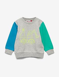 LWSOLAR 302 - SWEATSHIRT - sweatshirts - grey melange