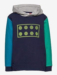 LWSAM 301 - SWEATSHIRT - hoodies - dark navy