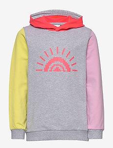 LWSOFIE 300 - SWEATSHIRT - hoodies - grey melange