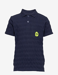 LWTOBIAS 312 - S/S POLO - DARK NAVY