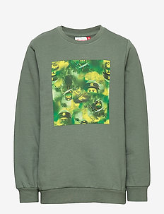 LWSAM 214 - SWEATSHIRT - DARK GREEN