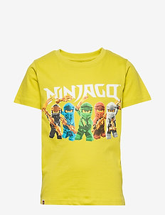 CM-51111 - T-SHIRT S/S - cartoon - lime green