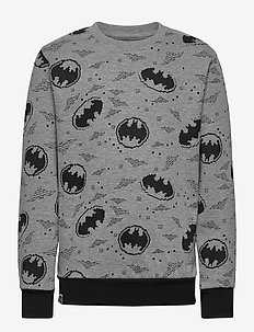 M-22672 - SWEATSHIRT - sweatshirts - grey melange