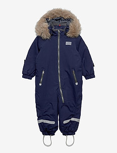 LWJUNIN 706 - SNOWSUIT - snowsuit - dark navy