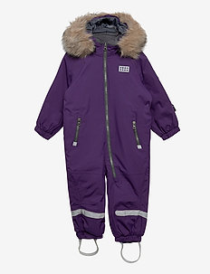 LWJUNIN 706 - SNOWSUIT - snowsuit - dark purple