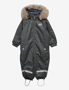 LWJUNIN 706 - SNOWSUIT - snowsuit - grey melange