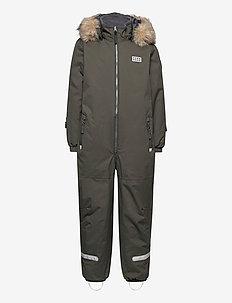 LWJIPE 707 - SNOWSUIT - snowsuit - dark khaki
