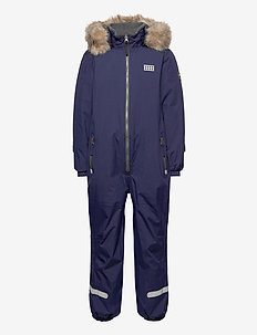 LWJIPE 707 - SNOWSUIT - snowsuit - dark navy