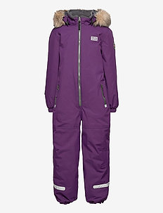LWJIPE 707 - SNOWSUIT - snowsuit - dark purple