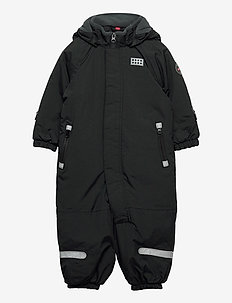 LWJUNIN 700 - SNOWSUIT - snowsuit - black