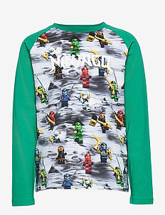 M-22757 - T-SHIRT LS - langærmede t-shirts - light green
