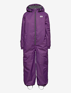 LWJIPE 703 - SNOWSUIT - snowsuit - dark purple