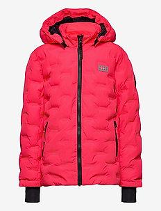 LWJIPE 706 - JACKET - shell jacket - coral red