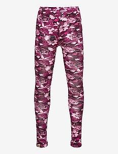M-22911 - LEGGINGS - leggings - dark pink ny