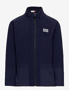 LWSINCLAIR 703 - CARDIGAN - fleecetøj - dark navy